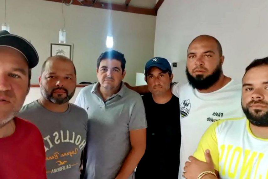 Grupo de motociclistas de SP fica 'preso' na Argentina em quarentena pelo coronavírus — Foto: Arquivo pessoal