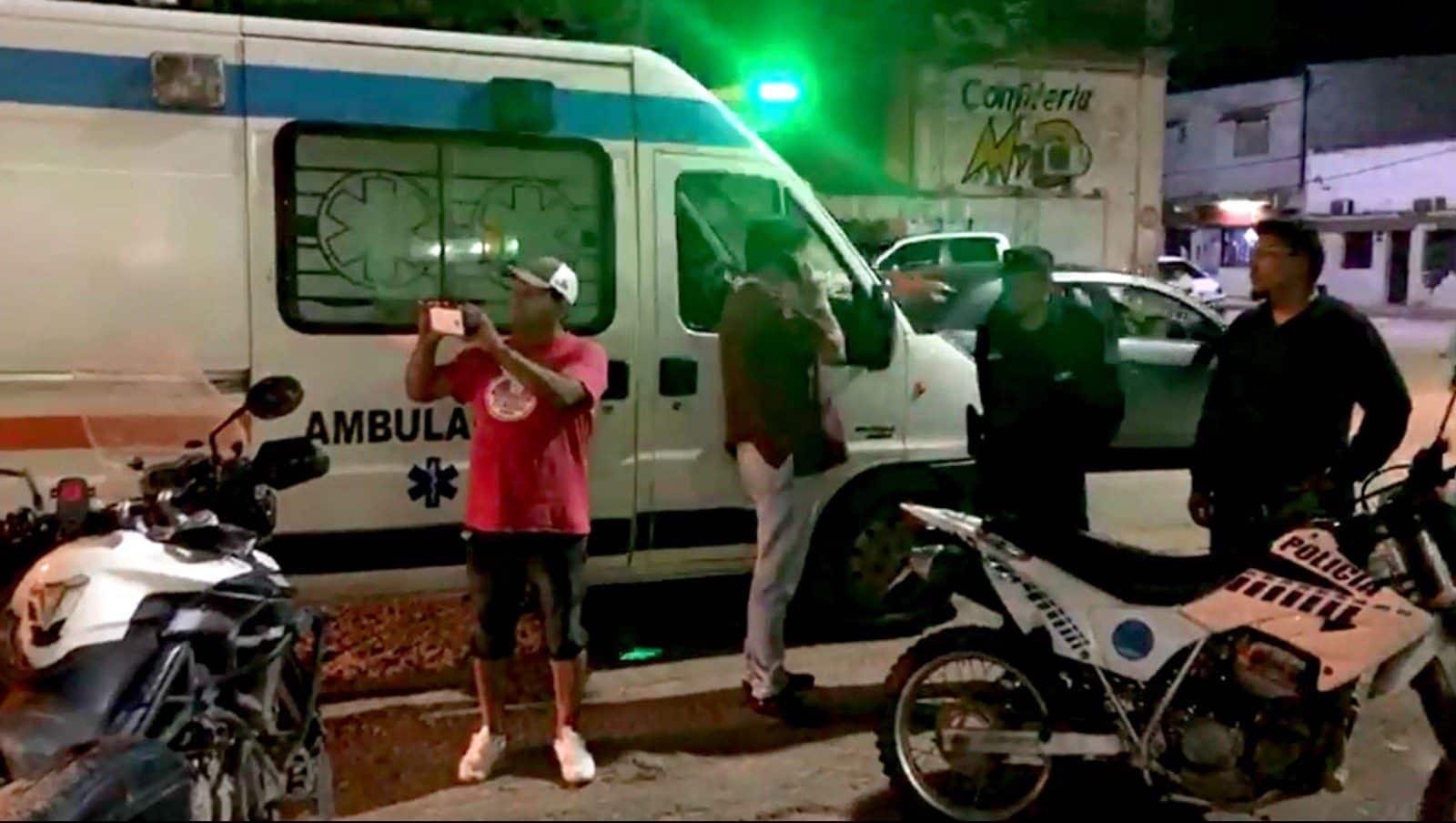 Grupo de motociclistas foi surpreendido pela polícia argentina assim que chegou a hotel na província de Salta — Foto: Arquivo pessoal