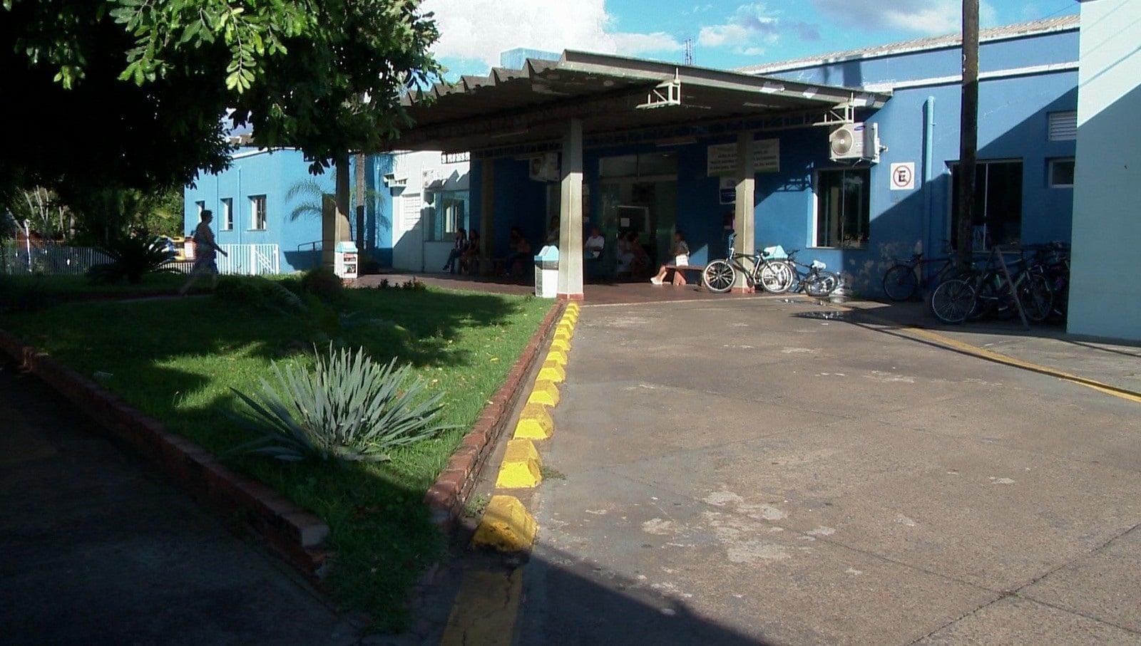 Adolescente com suspeita de coronavírus estava internado no Hospital e Maternidade de Rancharia (Foto: TV Fronteira)