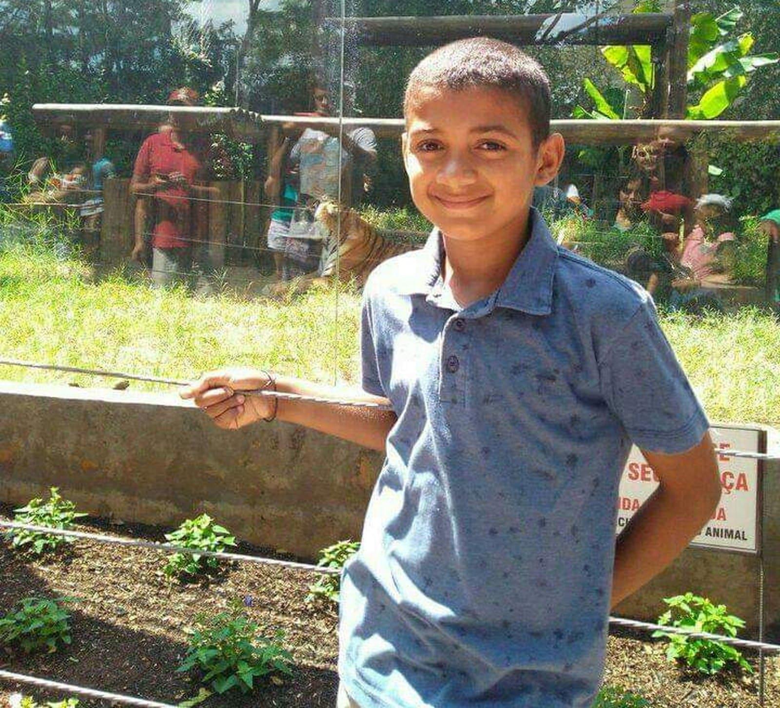 Menino morreu um dia antes de completar 11 anos em Ipaussu — Foto: Arquivo pessoal