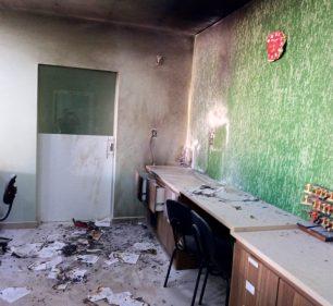 Ninguém ficou ferido após o ataque no hospital de Garça — Foto: Arquivo pessoal