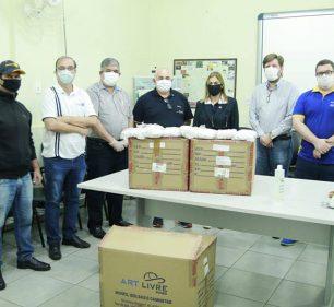 Rotary Clubs de Assis doam mais de 12 mil máscaras para Saúde (Foto: Departamento de Comunicação)