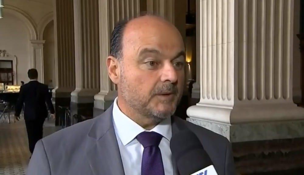 Deputado estadual Ricardo Madalena sofreu AVC — Foto: Reprodução/TV TEM