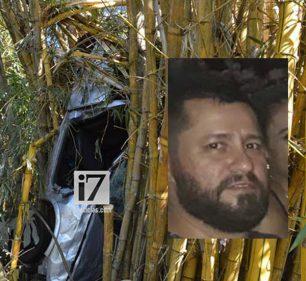 Leandro de Paula, de 43 anos ficou 12h preso entre as ferragens (Foto: Reprodução)