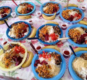 Casa de Passagem distribui mais de 2 mil refeições mensais aos assistidos (Foto: Departamento de Comunicação)