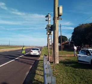 Ipem-SP valida radar na Rodovia SP 270 em Assis