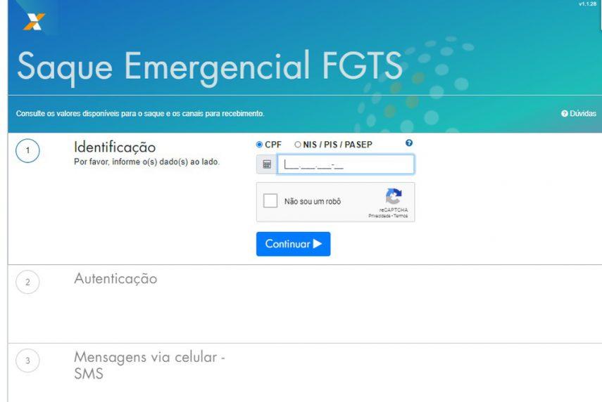 Consulta do valo e data do saque do FGTS pode ser feita por meio do site fgts.caixa.gov.br ou por meio do Disque 111 ( Foto: Reprodução)
