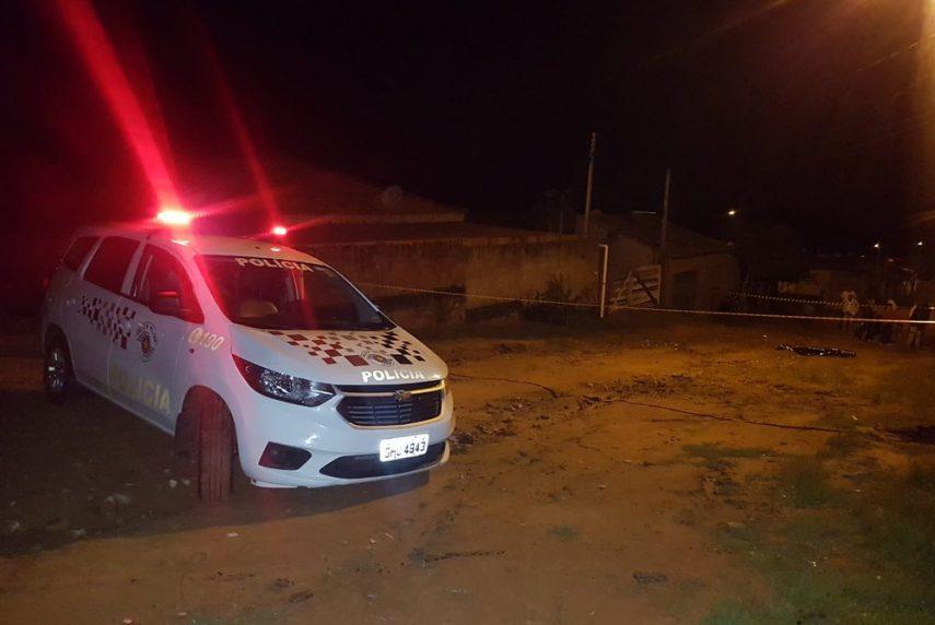 Homem é preso suspeito de matar o filho com facada em Marília — Foto: Polícia Militar/Divulgação