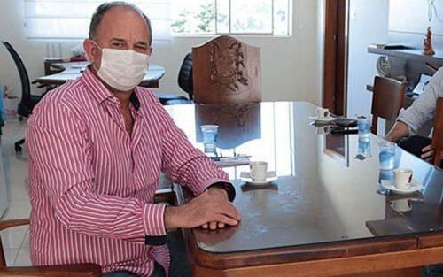 Prefeito José Fernandes testa positivo para COVID-19 (Foto: Departamento de Comunicação)