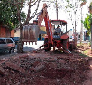 Prefeitura inicia revitalização da Concha Acústica (Foto: Departamento de Comunicação)