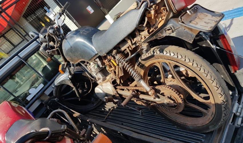 Pátio da Ciretran tem motocicletas furtadas durante a madrugada; quatro já foram localizadas (Foto: Divulgação/Polícia Militar)