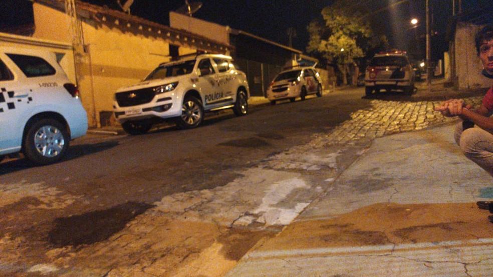 Homem é morto após tentar fugir e trocar tiros com a PM em Tupã — Foto: Divulga Tupã/Divulgação
