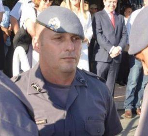 O cabo da PM Alexandre Luís Batista estava na corporação há 20 anos e servia no Força Tática do 32º BPM/I, de Assis — Foto: Arquivo Pessoal