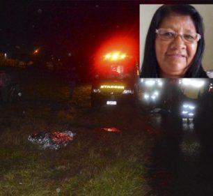Mulher morre atropelada por carro ao atravessar rodovia em Paraguaçu Paulista (Foto: Reprodução/i7 Notícias)