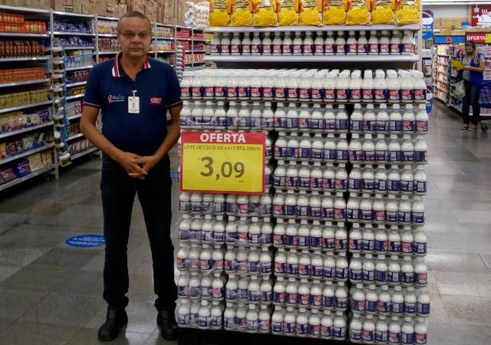 Manoel Moisés Cavalcante tinha 59 anos e atuava como promotor de vendas — Foto: Reprodução/Arquivo Pessoal