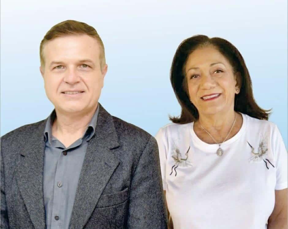 Coronel Franco e Ana Santa serão candidatos pelo DEM (Foto: Divulgação)