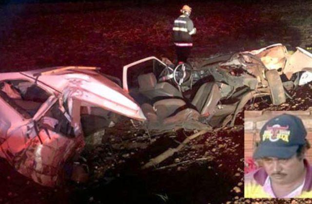 Morador de Cândido Mota morre após grave acidente em vicinal (Foto: Reprodução/O Diário do Vale)
