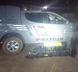 Motorista de prefeitura de Paraguaçu Paulista é preso com drogas em carro oficial em Naviraí (Foto: DOF/Divulgação)