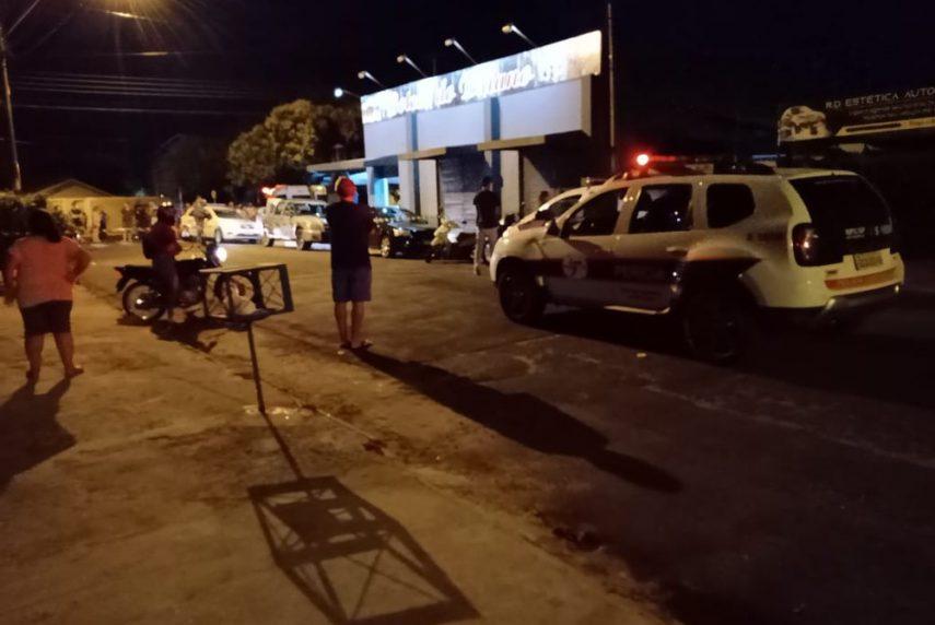 Crime aconteceu em um bar na zona sul de Marília — Foto: Arquivo pessoal