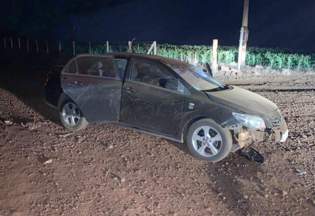 Carro envolvido no acidente: (Foto: The Brothers)