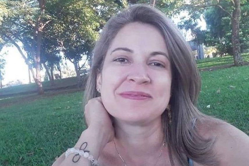 Cláudia Valéria de Oliveira foi encontrada morta pelo filho em Canitar (Foto: Arquivo Pessoal)