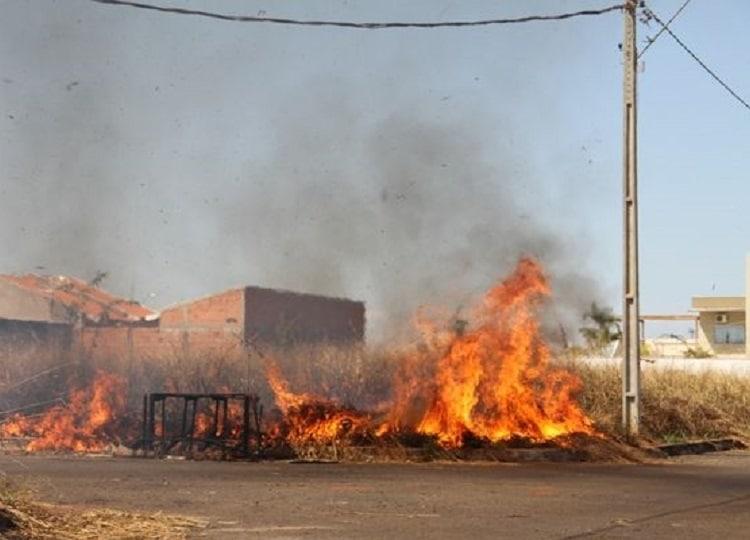 Secretaria do Meio Ambiente alerta para os riscos de queimadas em Assis (Foto: Departamento de Comunicação