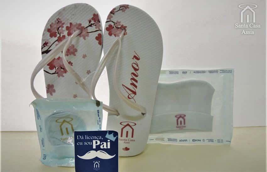 Santa Casa de Assis entrega kits de maternidade