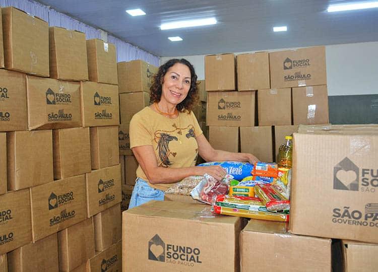 Luciana Barreto Fernandes, primeira dama e presidente do Fundo Social de Assis (Foto: Departamento de Comunicação)