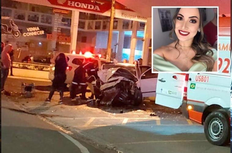 Psicóloga de 26 anos morreu em acidente de carro em Assis — Foto: Redes Sociais