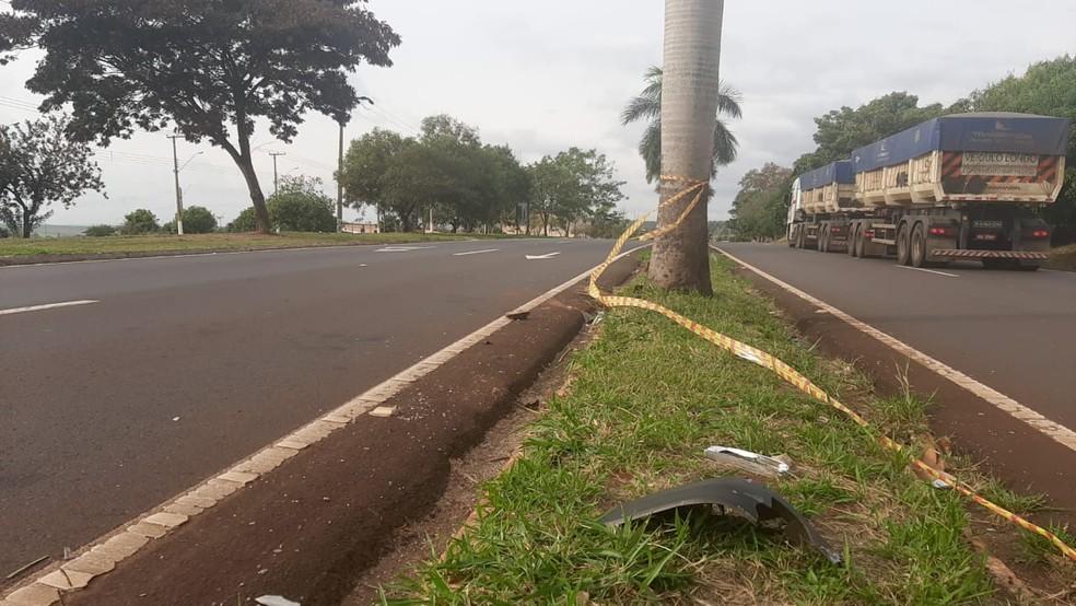 Pela manhã, o trecho da SP-270 já estava liberado; velocidade permitida no local é de 60 km/h — Foto: Adolfo Lima/TV TEM