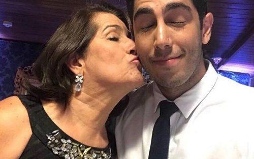 Mãe de Jonathan Nemer foi internada com Covid em Marília — Foto: Arquivo pessoal