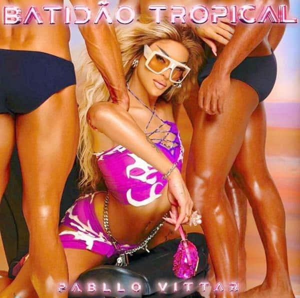 Capa do novo álbum de Vittar