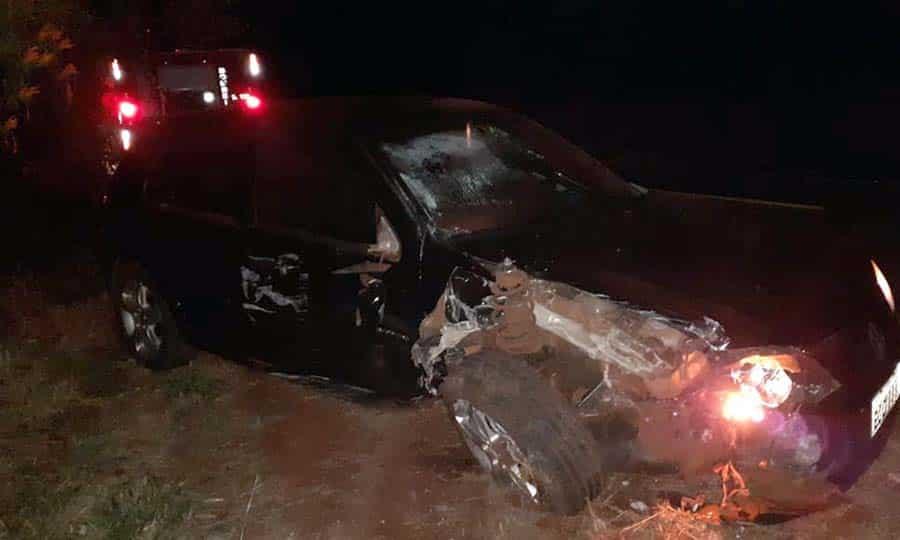 Grave acidente deixa vítima fatal na 'Fortunato Petrini' (Foto: Reprodução/O Diário do Vale)