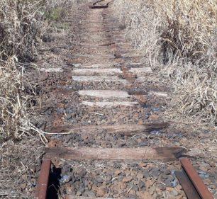 6 mil metros de trilhos da linha férrea são furtados em Paraguaçu Paulista (Foto: Comunicação da Prefeitura)