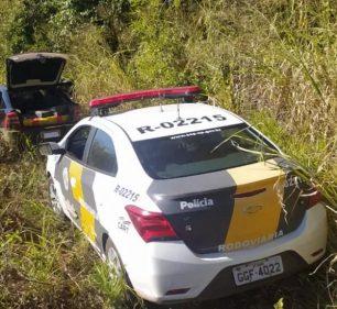 Casal foi preso com quase 300 quilos de maconha em Rancharia (Foto: Polícia Militar Rodoviária)
