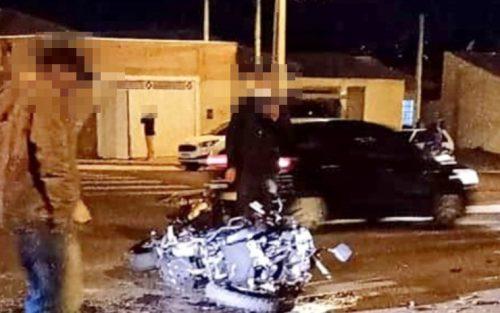 Motociclista fica ferido no dia do seu aniversário após acidente em cruzamento em Assis — Foto: The Brothers/Divulgação