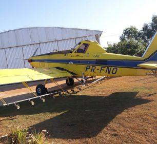 """Polícia Civil de Tupã (SP) apreende aeronave avaliada em R$ 1,3 milhões no Mato Grosso durante nova fase da """"Operação Conexão"""" (Foto: Polícia Civil/ Divulgação)"""