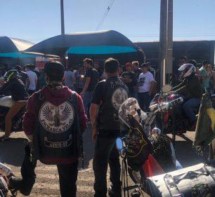 Evento em Assis causou aglomeração em posto de combustíveis — Foto: Arquivo pessoal