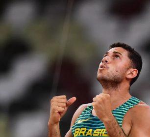 Thiago Braz é bronze no salto com vara - Foto: AFP
