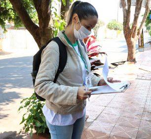 Saúde inicia cadastramento da população para agilizar os serviços de saúde no município (Foto: Departamento de Comunicação)