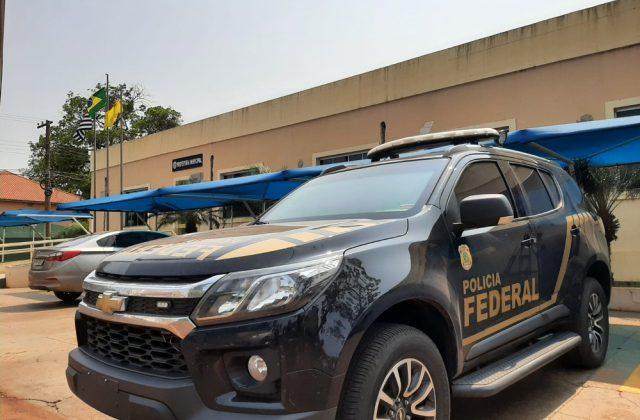 PF cumpriu mandados em quatro endereços em Florínea e Maracaí — Foto: Adolfo Lima/ TV TEM