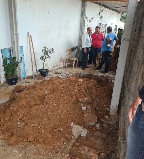 Polícia encontrou corpos de mãe e filha enterrados em quintal de casa em Pompeia - Foto: João Trentini/Divulgação