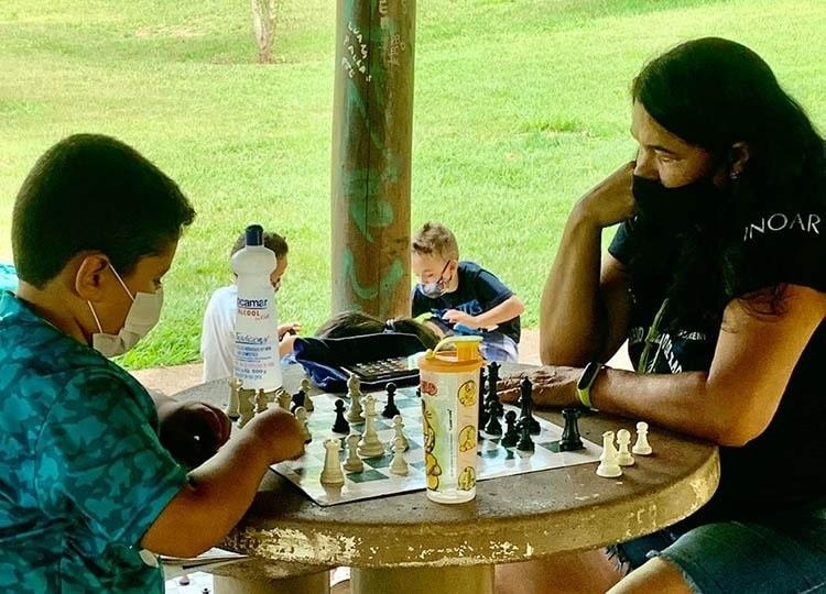 'Dia da Criança' tem diversão garantida com atividades de recreação (Foto: Departamento de Comunicação)