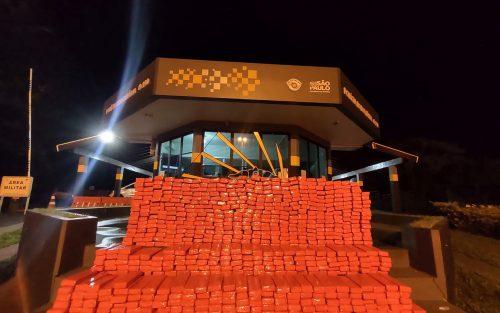 Casal foi preso na noite de sexta-feira na Rodovia Raposo Tavares — Foto: Divulgação /Polícia Militar Rodoviária